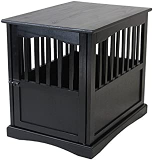 Casual Home Solid Wood Pet Crate End Table