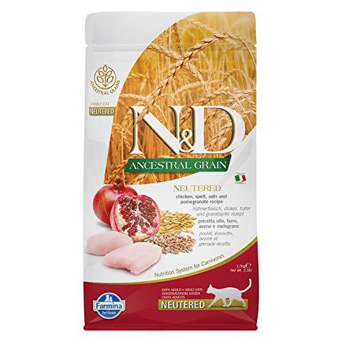 Farmina N&D Gatto Ancestral Neutered Pollo/Melograno kg. 1.5