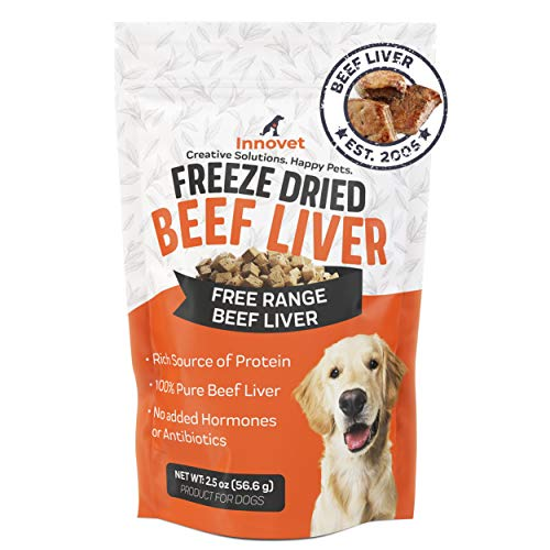 Innovet Pet Freeze Dried Treats - Beef Liver - 3 Calories per Treat,...
