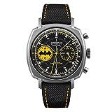 Undone Batman Caped Crusader Cronografo Ibrido Meccanico Quarzo Titanio Nero Giallo Cordura Orologio Uomo