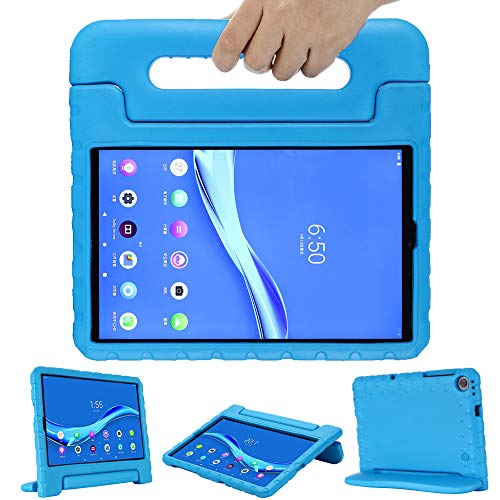 GOZOPO Niños Funda para Lenovo Tab M10 FHD Plus (2ª Generación) 10,3 pulgadas TB-X606F, Ligero & A prueba de choques Tab M10 FHD Plus Funda Protectora -Azul