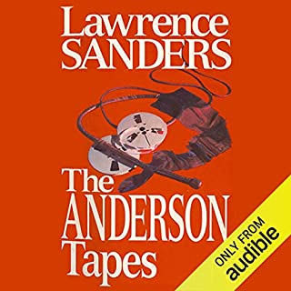 The Anderson Tapes audiobook cover art