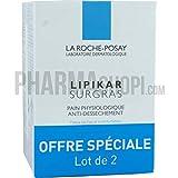 La Roche-Posay Lipikar Surgras Cleansing Bar 2 x 150g