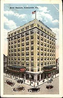 View of Hotel Seminole Jacksonville, Florida Original Vintage Postcard