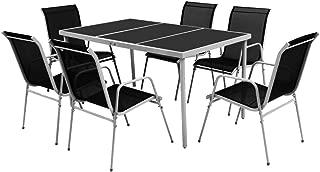 Amazon.es: Vidrio - Conjuntos de muebles de jardín / Muebles ...
