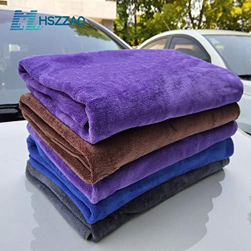 XIAOBAOBEI Auto Detaillering 80x180cm Auto Wassen Doek Microfiber Handdoek Trapo de Limpieza de automóviles Voor Cars Dikke Microfiber Voor Car Care Keuken-1pcs__Blue_Superfine_Fiber