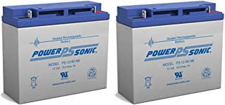 12V 18AH New Sealed AGM Battery for YardWorks Electric Lawn Mower - 2 Pack