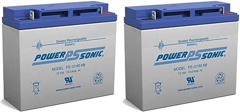 Powersonic 12V 18AH SLA Battery Replaces Liebert AP-130/AP23 3kVA UPS - 2 Pack