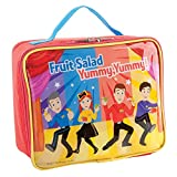 The Wiggles Lunch Bag For Kids, Zip Closure, Convenient Carry Handle And Easy to Clean, Great for Lunch Box and Bento, The Wiggles Toys