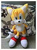 XIAOBMY Stuffed Plush Nuevo Juego Classic Tails Soft Llush Toy 15' (Color : Tails)