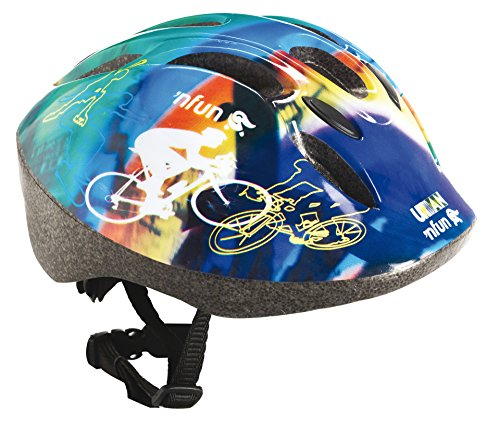 'Nfun - Helme für Skateboarding in Blu/Verde/Rosso/Giallo, Größe X-Small