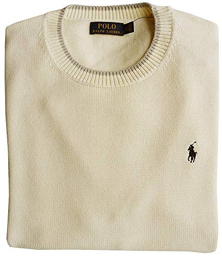 Polo Ralph Lauren Pullover, L, Pony Logo, CHIC Cream