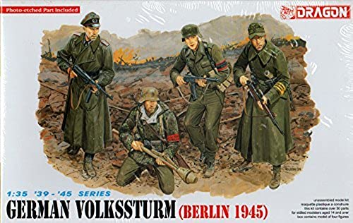 DML Dragon 1 35 German Volkssturm (Berlin 1945) Figure Set  6020 by Dragon Models USA