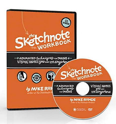 Download The Sketchnote Workbook Video: Advanced techniques for taking visual notes you can use anywhere 0321993985