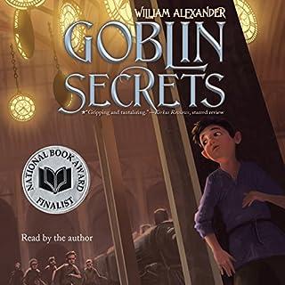 Goblin Secrets audiobook cover art
