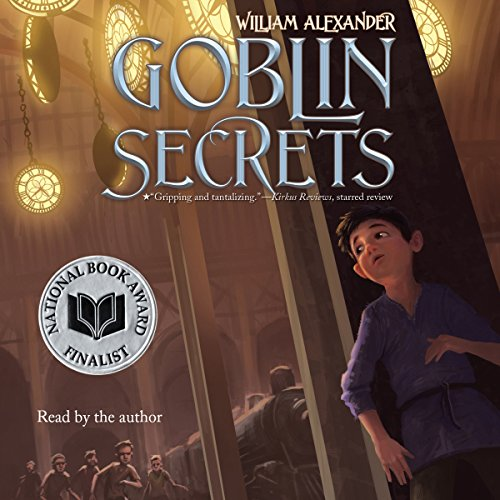 Goblin Secrets audiobook cover art