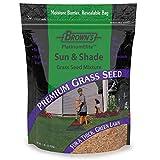 F.M. Brown's Premium Grass Seed Green Turf Sun & Shade Mixture, 1lb