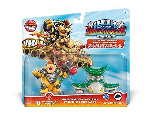 Skylanders SuperChargers Nintendo Dual Pack 2 (Hammer Slam Bowser, Clown Cruiser)