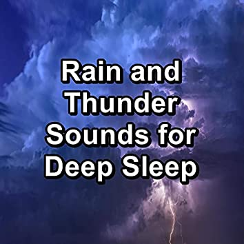 Rain and Thunder Sounds for Deep Sleep
