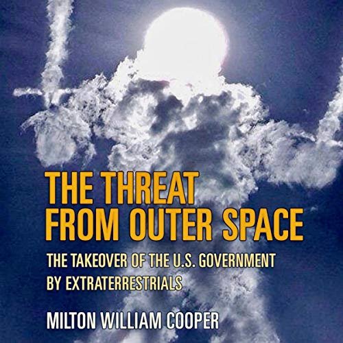 The Threat from Outer Space audiobook cover art