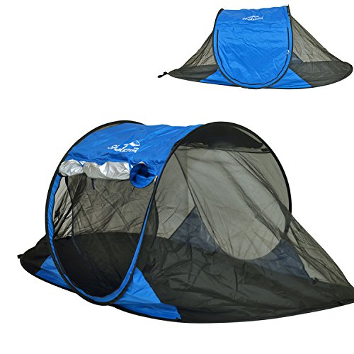 Shadezilla Free-Standing Instant Pop-Up Mosquito Net Bug Tent with UPF 100+ Removable Ceiling