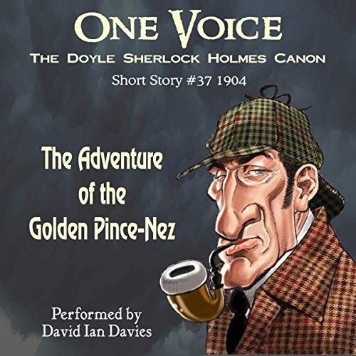 The Adventure of the Golden Pince-Nez audiobook cover art