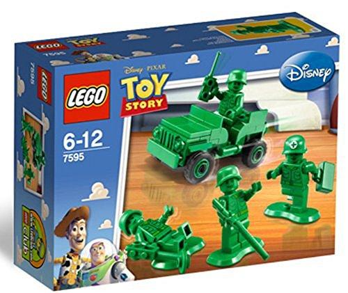 LEGO - 7595 - Jeu de Construction - Toy Story - Les Petits Soldats en Patrouille
