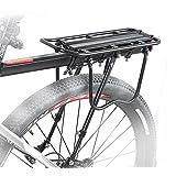 T_B035』 NinoLite 自転車 荷台 最大25Kg可能 後付け リア キャリア パニア バッグ シート ポスト に取付け簡単 工具 付き