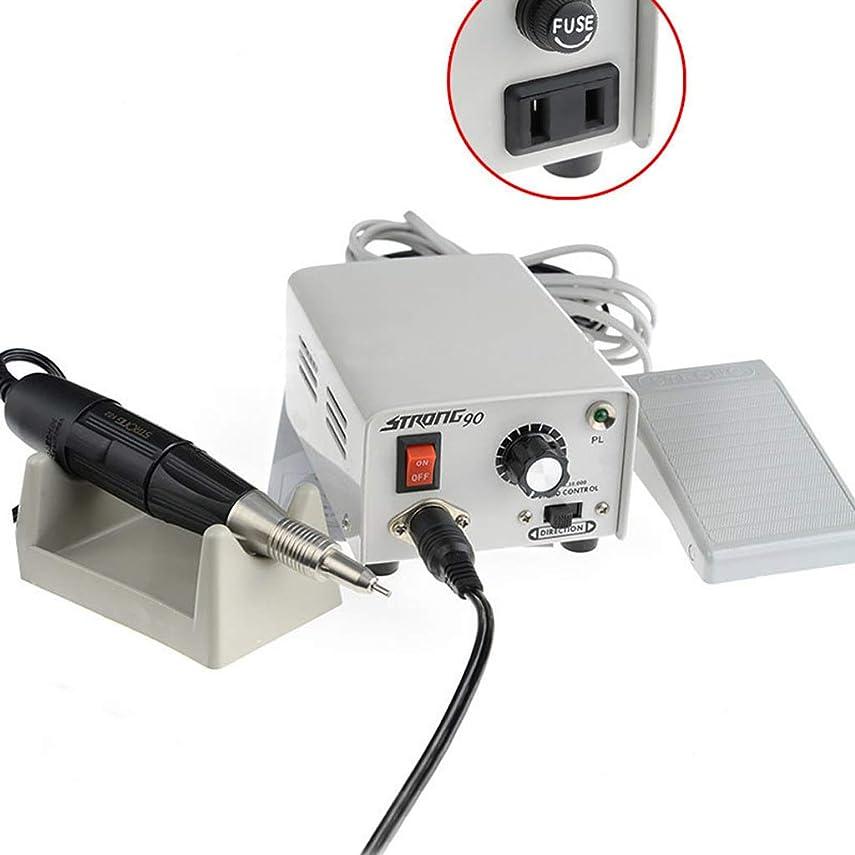 鍔ユニークな尋ねる電気ネイルポリッシャー、マニキュアペディキュアミニドリルアクリルゲルネイルマシン