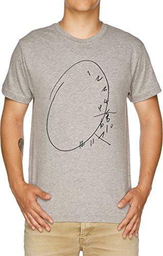 Hannibal Uhr Herren T-Shirt Grau