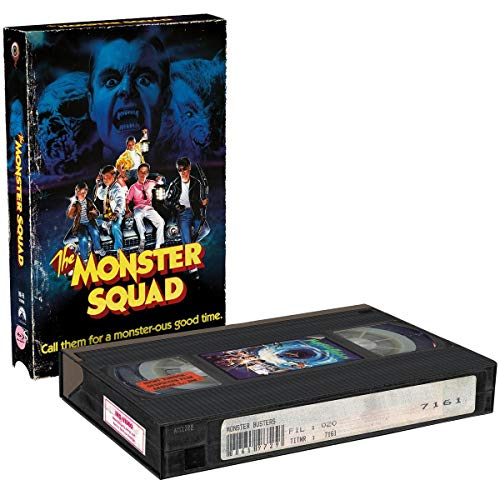 Monster Busters (2-Disc Limited RETRO-VHS-EDITION) [Blu-ray]