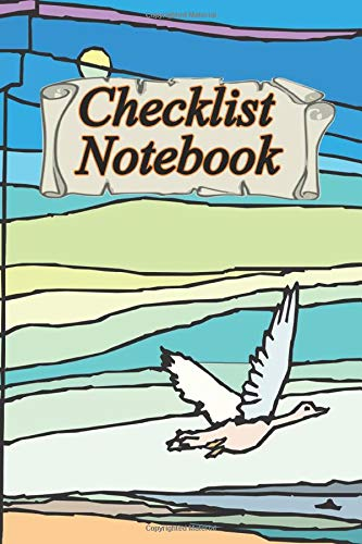 Notebook Checklist: for Daily and Weekly Layout Chaos Coordinator Undated Notebook Organizer Simple to-do lists with top priority, 120 pages