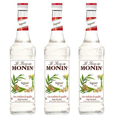 Monin Sirup Ingwer, 0,7L 3er Pack