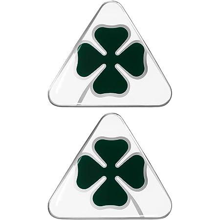 B430 Vierblättriges Kleeblatt Emblem Badge Auto Aufkleber 3d Car Sticker Auto
