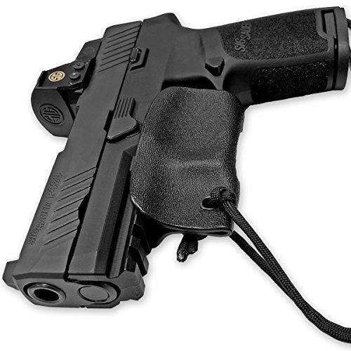 Skydas Gear Sig P320 Holster Kydex Trigger Guard Black Pistol Lanyard Rip-Away Pocket IWB