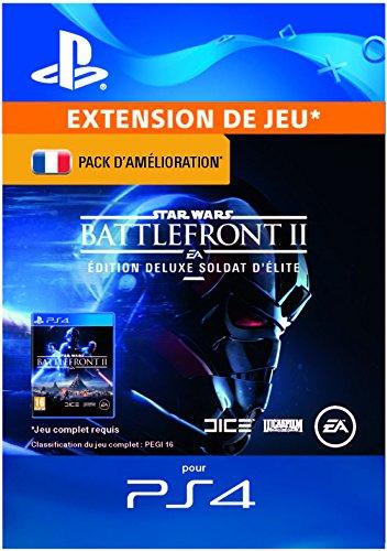 Star Wars Battlefront II - Deluxe Upgrade DLC   Code Jeu PS4 - Compte français