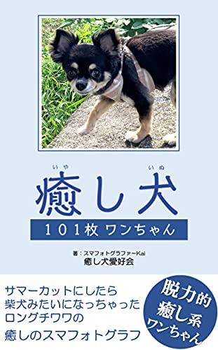 癒し犬【101枚ワンちゃん】: ~柴犬みたいになっちゃったロングチワワの癒しのスマフォトグラフ~