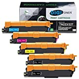 DIGITONER Compatible TN227 TN223 Toner Cartridge Replacement for Brother TN-223 TN-227 Toner for Brother L3290CDW L3210CW L3230CDW L3230CDN L3270CDW L3710CW L3750CDW L3770CDW [5PK,BBCMY]