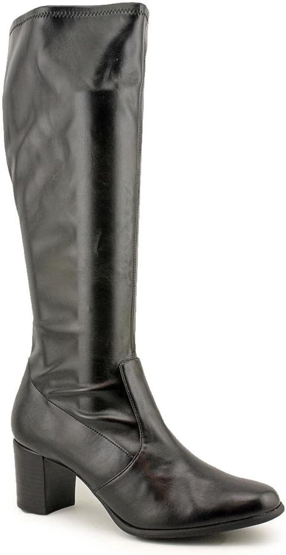 K.S. Lucca Mid Calf Boot - Black, 6.5 M