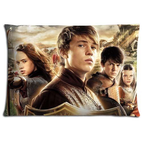 Waterproof Zippered Bedding Pillow Protector Case The Chronicles of Narnia Prince Caspian Elegant Polyester Cotton Bacteria Resistant Kissenbezüge (50cmx75cm)