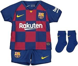 NIKE, Fcb I Nk Brt Kit Hm Equipamento de Fútbol Unisex niños