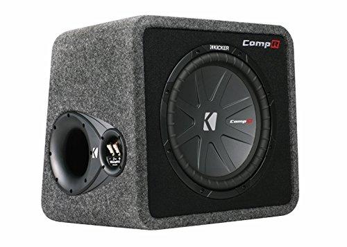 KICKER 40VCWR122 12' 1000W Loaded Car Audio Subwoofer+Sub Box Enclosure VCWR122