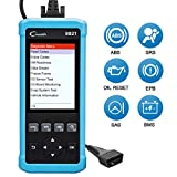 LAUNCH Creader 8021 ABS SRS Scan Tool Car Code Reader OBD2 Scanner Full OBDII Functions Auto Diagnostic Scanner with ABS SRS EPB Oil Service Light Resets Free Update