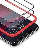 BANNIO Vetro Temperato per iPhone 11 PRO/iPhone XS/iPhone X,2 Pezzi Curva 3D Full Screen Pellicola Protettiva per iPhone 11 PRO/iPhone XS/X 5,8 Pouces,Copertura Totale Protezione Schermo,Nero