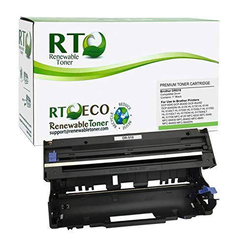 Price comparison product image Renewable Toner Compatible Laser Imaging Drum Replacement for Brother DR510 DR-510 Printers HL-5100 5130 5140 5150 5170 DCP-8040 8045 MFC-8120 8220 8440 8640 8840