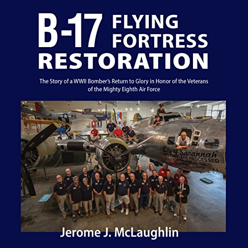 B-17 Flying Fortress Restoration cover art