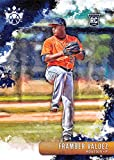 2019 Diamond Kings Baseball #101 Framber Valdez Houston Astros RC Rookie Card Official MLB PA Trading Card in Raw (NM or Better) Condition. rookie card picture
