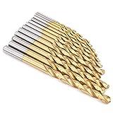 Juego de brocas cónicas de perforación de múltiples orificios de 13 piezas, brocas de metal para taladro giratorio de vástago recto de acero para destornilladores eléctricos de 1,5 mm-6,5 mm