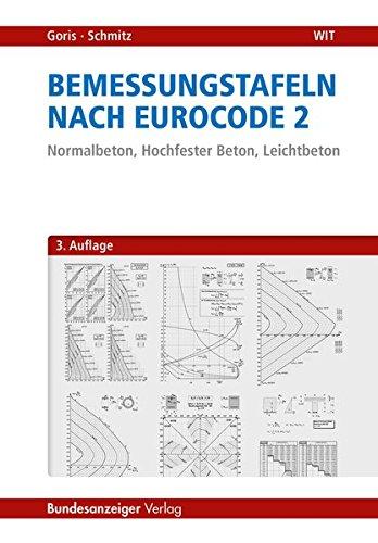 Bemessungstafeln nach Eurocode 2: Normalbeton, Hochfester Beton, Leichtbeton