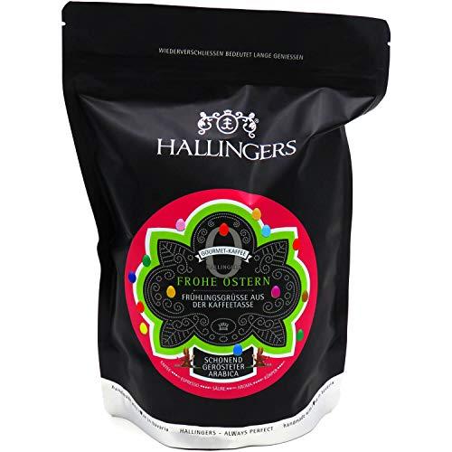 Hallingers Gourmet-Kaffee, schonend langzeit-geröstet (500g) - No. O Frohe Ostern (Aromabeutel) - zu Ostern